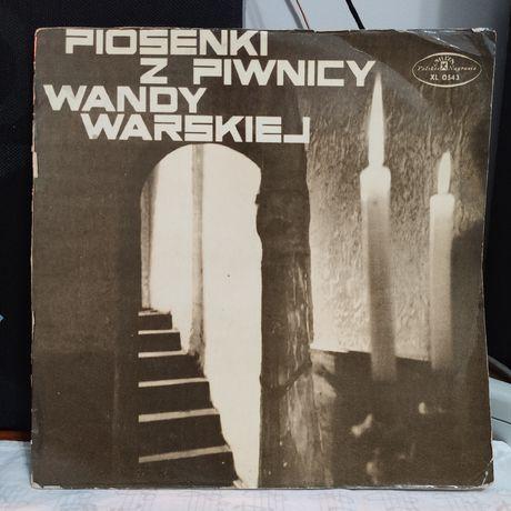 Piosenki z piwnicy Wandy Warskiej - winyl - mono 1969 rok- stan: G+++