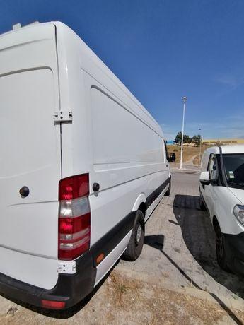 Aluguer Carrinhas Mudanças com motorista// Margem Sul