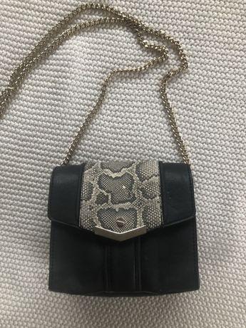 Mala torebka Zara na zlotym łańcuszku
