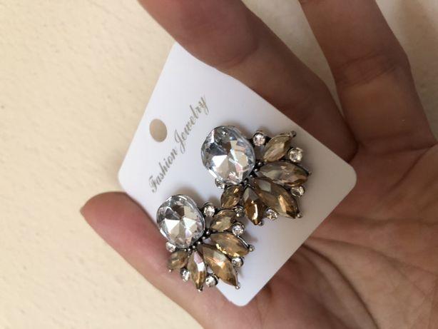 Kolczyki ślubne ślub biżuteria ślubna