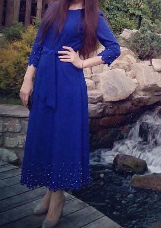 Новое платье с жемчугом!