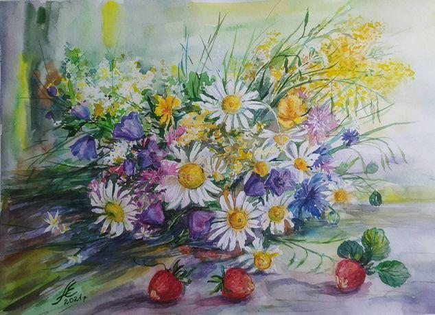 """Продам картину """"Полевые цветы"""""""