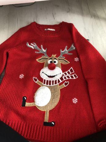 Sweter zimowy.