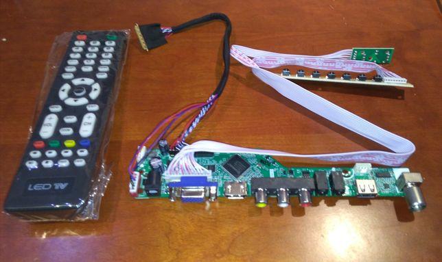 Placa controlador LTN140ATxx
