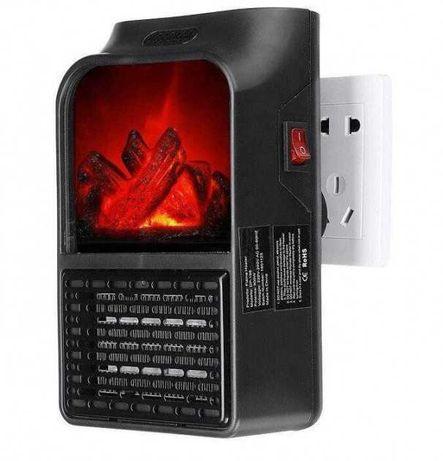 Портативный обогреватель с пультом Flame Heater (1000 Вт)