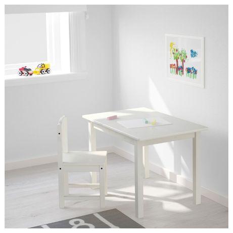 Стол детский, белый, 76x50 см