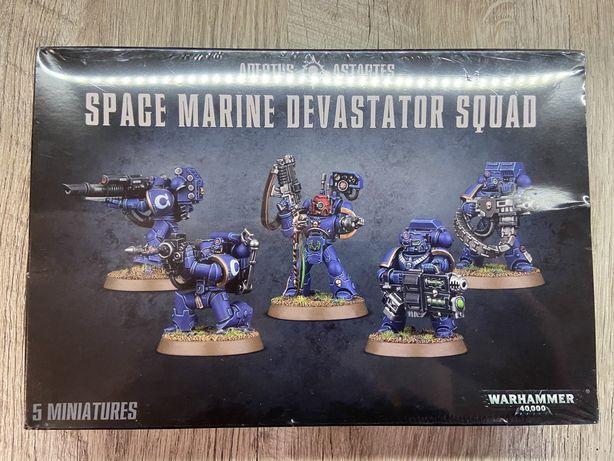Warhammer 40K Space Marines Devastator Squad