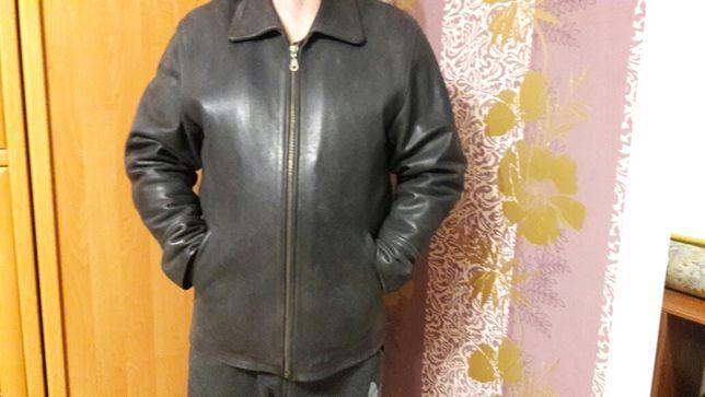 Продсм мужскую кожаную куртку
