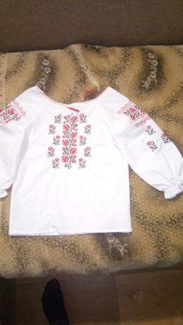 Вышиванка для девочки