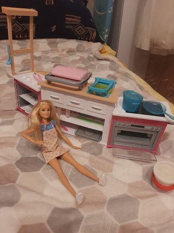 Barbie kuchnia, plus gratis