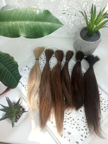 Волосы натуральные для наращивания блонд / тест прядь / для отработки