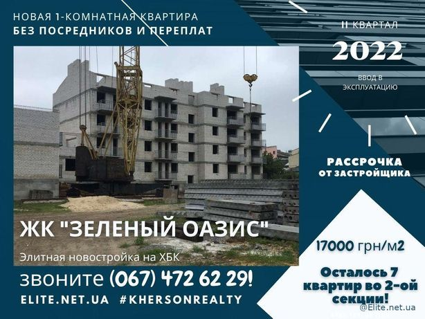 Недорого 1-ком Квартира Новострой ЖК на Хбк Цена Застройщика
