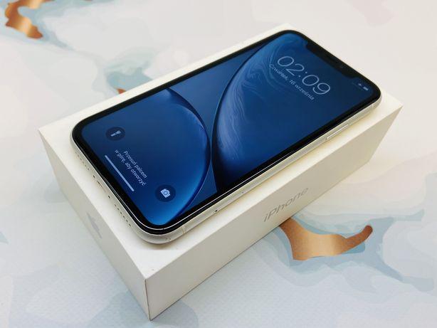 iPhone XR 64GB WHITE • GWAR 12 msc • DARMOWA wysyłka • FAKTURA