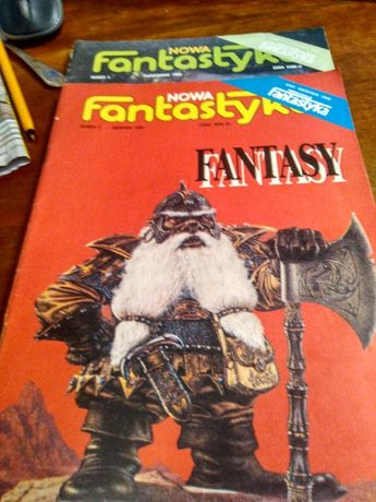 Fantastyka czasopismo 1990r