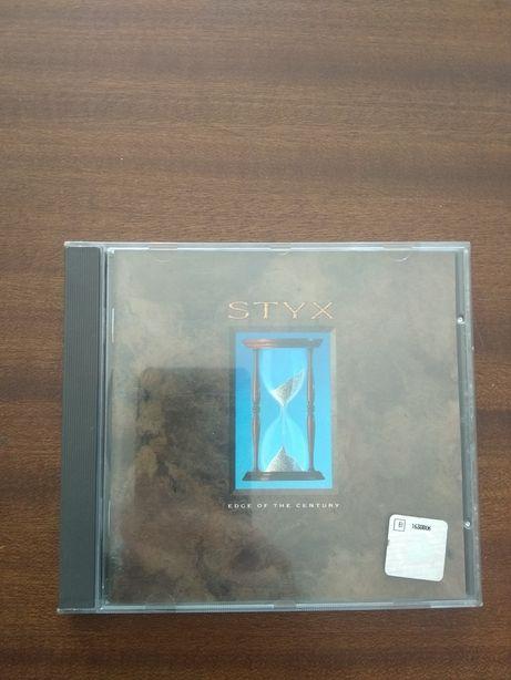 Styx - Edge Of The Century (1990, CD)