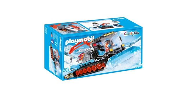 Playmobil 9500 Limpa Neve - NOVO