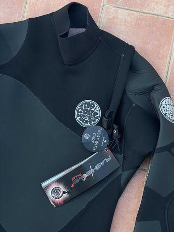 RIPCURL Flashbomb HeatSeeker 4/3mm Zip Free