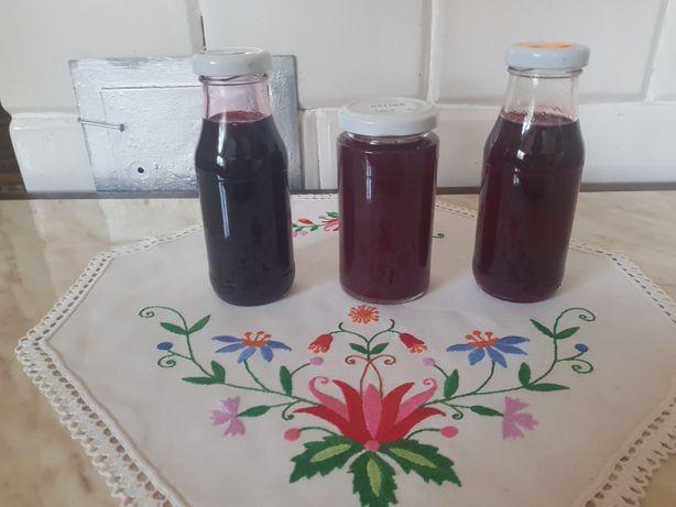 Soki EKO z malin, wiśni lub jeżyny
