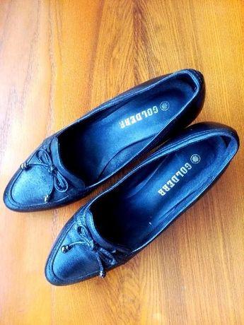 Элегантные туфли (натуральная кожа, 39 размер)