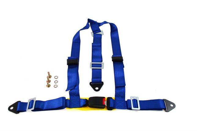 """Pasy Sportowe 3P 2"""" Blue - E4"""