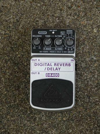 Pedal Delay/Reverb Behringer DR400