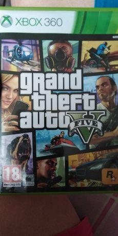 GTA V  5 Xbox 360 napisy polskie