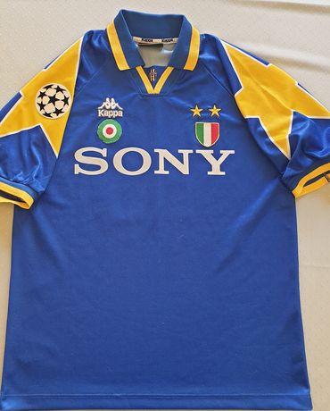 Koszulka wyjazdowa KAPPA Juventus FC 1995/96 XL stan bd 10 Del Piero