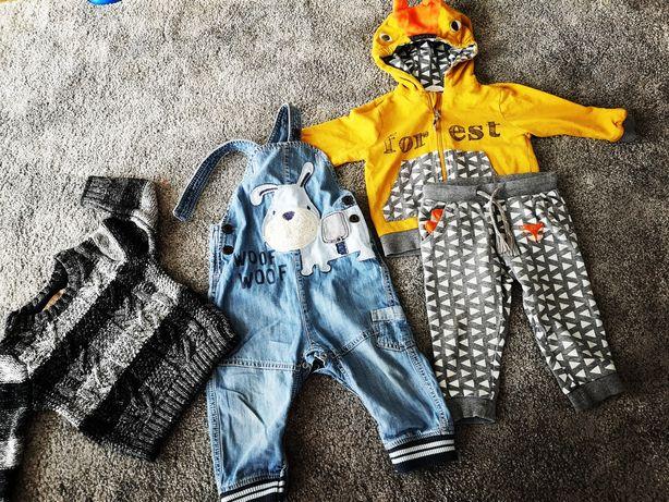 Next, Zara zimowa paka /zestaw ubrań dla chłopaka 80-86.