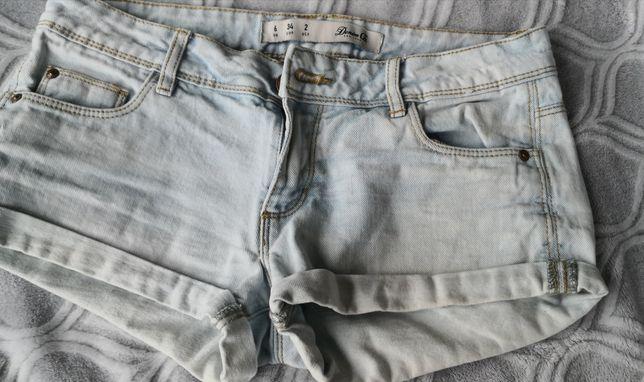 Spodenki jeansowe, rozmiar 34