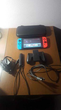 Игровая приставка Nintendo switch прошитая