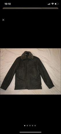 Куртка - дублянка з цигейковим підкладом. див.заміри. куртка зимняя.