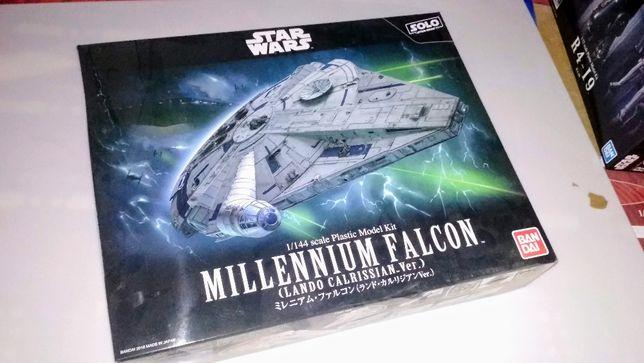 Model Bandai Star Wars 1:144 Millennium Falcon Lando