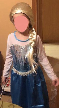 Strój Elsa 110-116