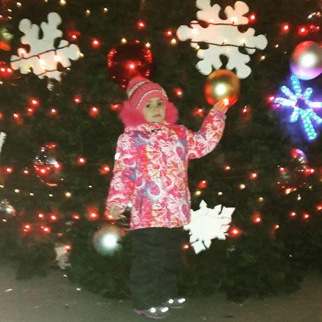 Фирменный термо костюм для девочки