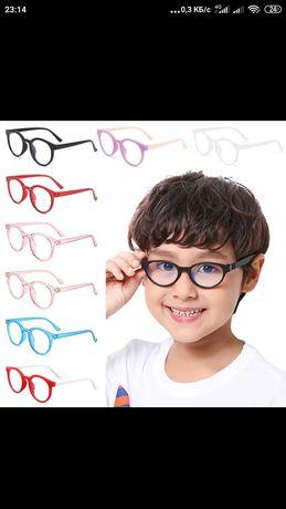 Детские очки для компьютерных игр с жестким футляром