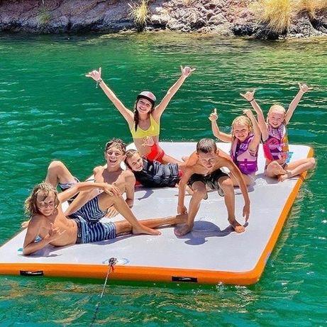 Plataforma insuflável para barco, jetski, piscina,…