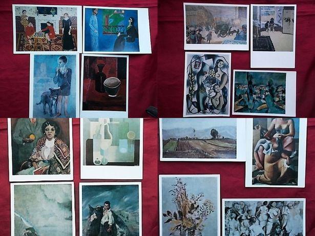 западноевропейская живопись ХХ века В наборе 16 открыток