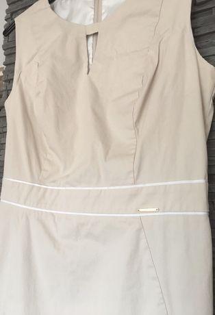 Sukienka ołówkowa  beż Orsay rozm 42/40