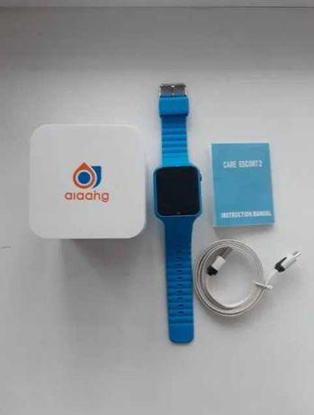В школу, детские смарт V7k / Baby Watch часы, отслеживание /