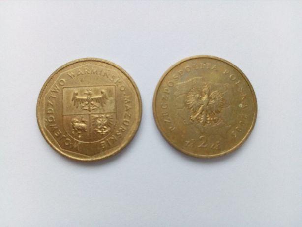 Polska 2 złote, 2005 rok - Województwo warmińsko-mazurskie