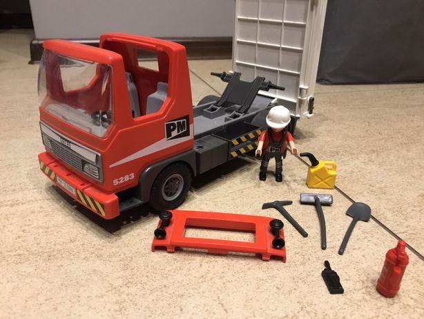 Playmobile auto roboty drogowe