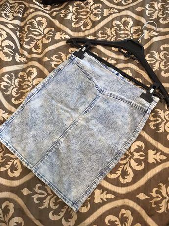Джинсовая юбка, 140р (8лет)