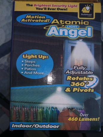 """LED фонарь """"Atomic light Angel"""" с датчиком движения, свыше 460 люмен"""