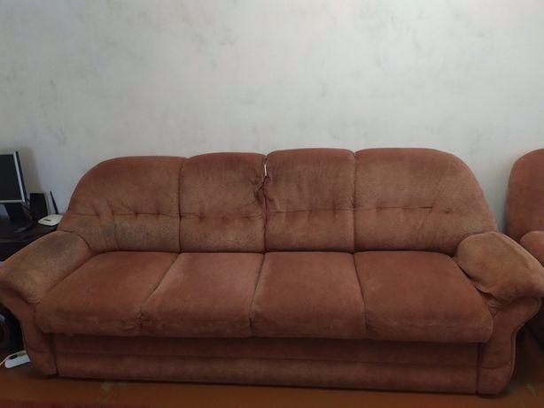 Терміново продаеться диван і два крісла