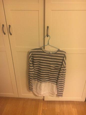 Bluza z koszulowym dołem - stradivarius, rozmiar M