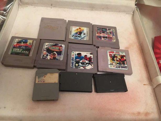 10 jogos gameboy ,colecção bom estado