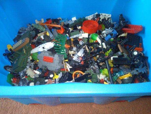 LEGO, COBI zestawy pomieszane