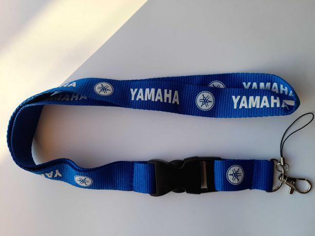 Fita porta chaves Yamanha Azul