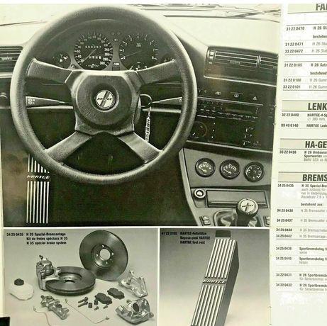 BMW e30 hartge доп приборы vdo