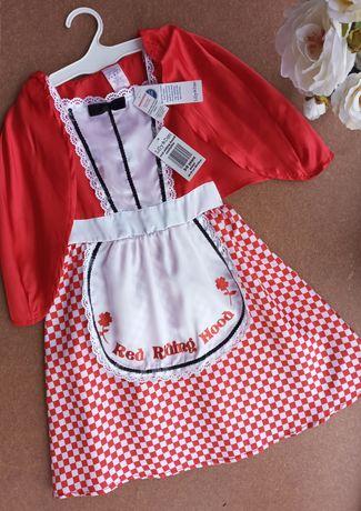 Красная шапочка, новое карнавальное платье 3-5 лет